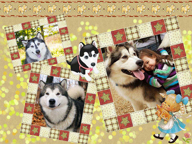 Clipart for pet collage