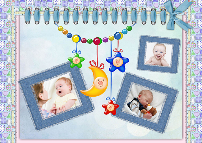 scrapbooking ideas for baby boy