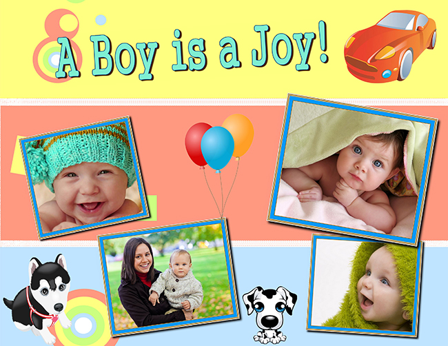 Scrapbooking Ideas for Baby Boy | Tips & Templates