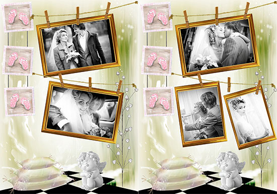 wedding collage idea