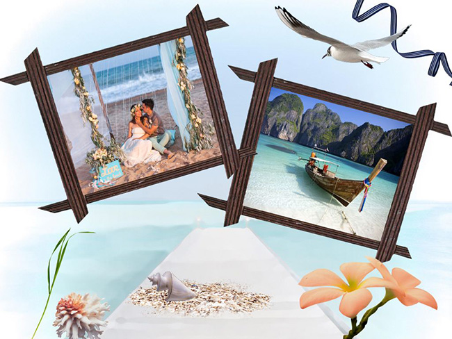 Travel Photo Album Design | Stylish Printable Templates